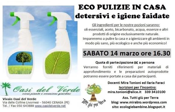 eco pulizie oasi verde 14 marzo mira ilaria