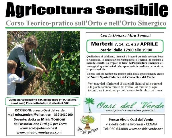 corto sinergico aprile 2015 oasi del verde Mira Tonioni